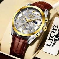 Gold white L