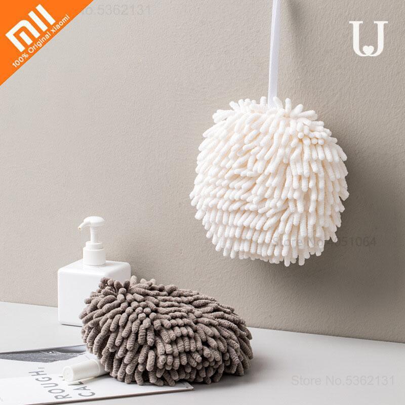 Xiaomi Youpin Wipe Hands Towel Ball Super Absorbent Fast Drying Soft To The Touch Prevent Bacterial Growth Health For Child New