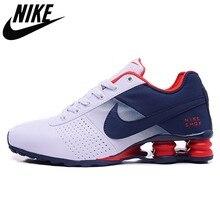 Frete grátis novo shox entregar 809 homens tênis de corrida baratos famoso oz nz shoxing chaussures tênis esportivos