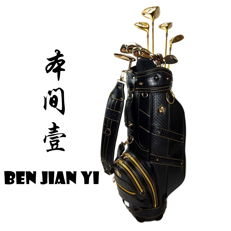 2019 BEN JIAN YI Golf Club OEM Fairwaywood Driver Putter Irons 5-S Golf Forged Iron A Set Of 13pcs R / S Free Shipping