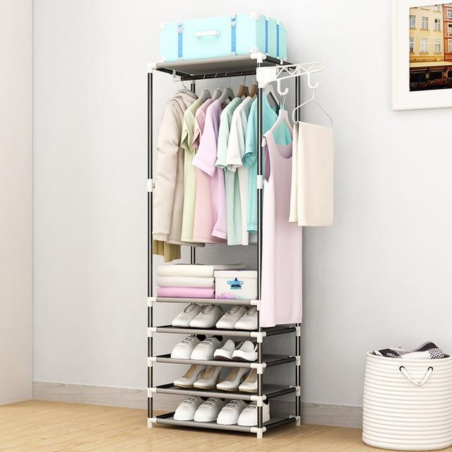 Coat Rack Closet Floor Shelf 3