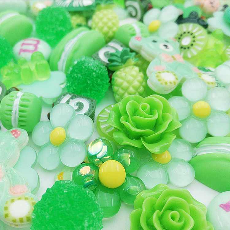 Slime charms Cute Dessert Bread Charms for Slime Filler Cake Ornament Phone Decoration Charms Slime Supplies Toys 45