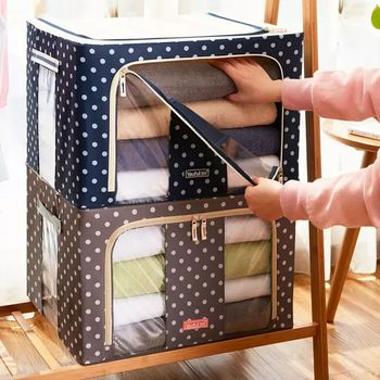 Ropa plegable manta juguetes caja de almacenamiento armario organizador contenedor bolsas