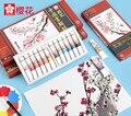 SAKURA XTCW китайская краска ing пигментные акварельные краски краска 12 мл ручная краска ed DIY для художника пейзаж краска ing Art Supply