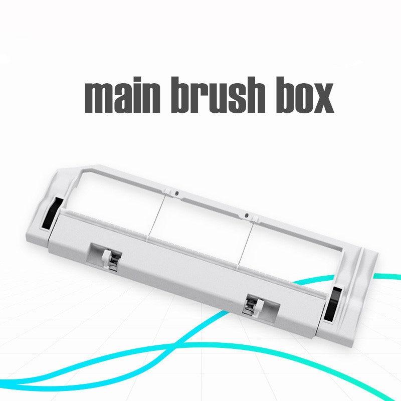 XIAOMI MI Robot Vacuum Part Xiaomi Robotic Vacuum Cleaner Rolling Brush Cover Main Brush Box Replacements