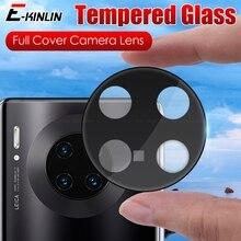 10pcs Camera Glass For HuaWei Mate 40E 40 30 30E Pro Plus 5G Full Cover 3D Curverd Lens Screen Protector Tempered Glass Film