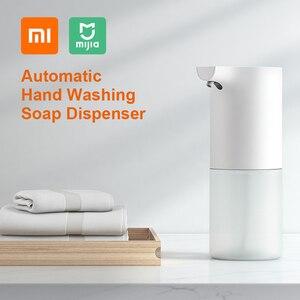 Image 1 - Xiaomi Mijia otomatik indüksiyon köpük el yıkama köpük yıkama sabunluk kızılötesi sensör akıllı evler için