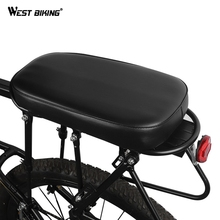WEST BIKING Bike Bicycle Saddle Rear Seat For MTB Mountain Road Bicycle Seat Bike Cycling Saddle Cushion Cycling Accessories free shipping new syun lp bicycle saddle ergonomic spider seat mtb mountain bike cushion ventilation durable cycle accessories