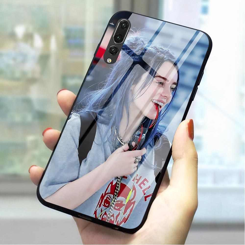 Billie Eilish กระจกนิรภัยสำหรับ Huawei P20 ฝาครอบ Honor 9 10 Lite 7A P10 P20 P30 PRO P สมาร์ท Mate 20 Lite