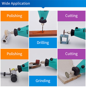 Image 5 - GOXAWEE 220V Electric Mini Drill engraver Variable Speed Rotary with Flexible Shaft 181PCS Accessories Power Tools for Dremel