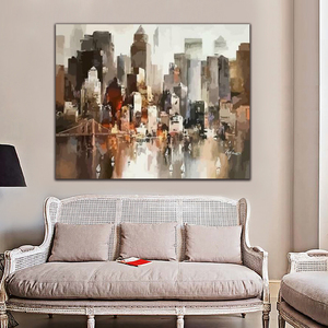 DIY картинки для раскраски по номерам с морским городом, рисунок, рельефная живопись по номерам, обрамленная домой