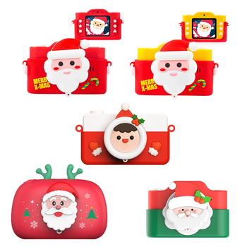 Christmas Kids Print Camera Printer Cute Digital DV Children Pinter Mini Portable Printing Photo for Xmas Gifts - discount item  40% OFF Office Electronics