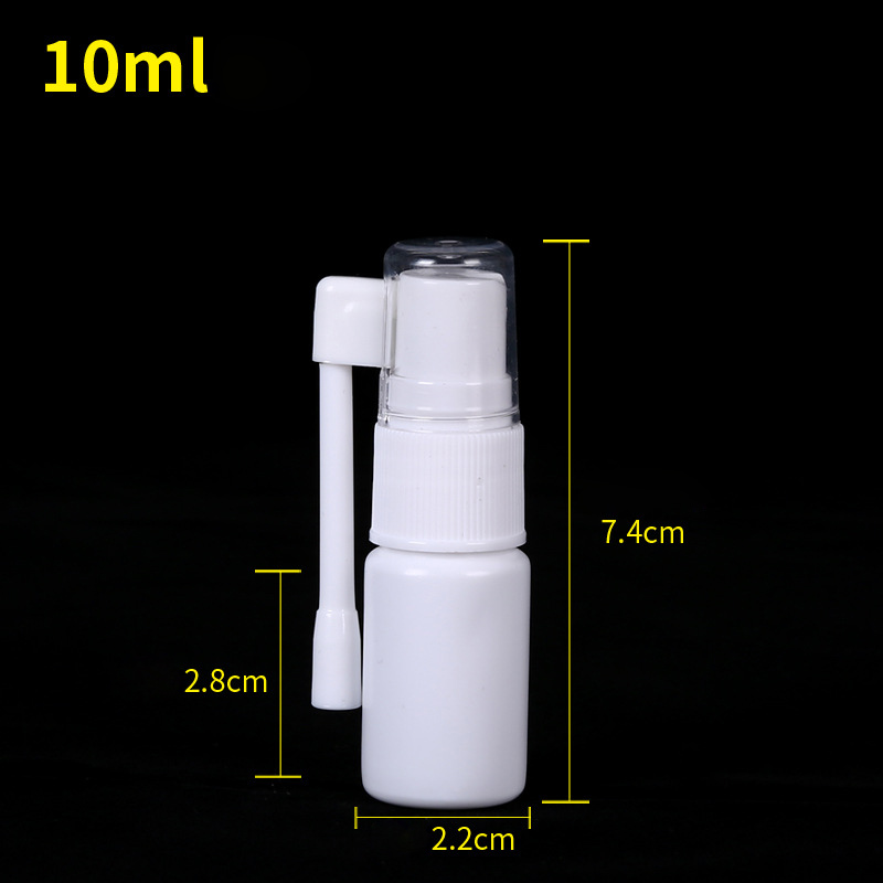 New Refillable Mini Perfume Bottle Empty Containers Plastic Atomizer Portable Travel Bottle Side Spray Nasal Spray Bottle