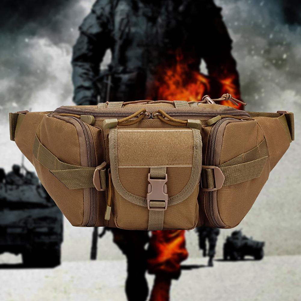 Outdoor Sports Unisex Camouflage Chest Waist Bag Fanny Pack Sling Pouch