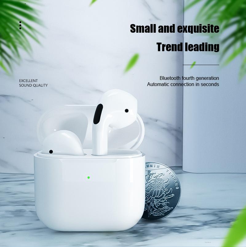 Bluetooth 4th Generation Wireless In-ear Earbuds Fashion Waterproof Sport TWS Headphones