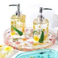 DIY Parfüm Flasche Sanitizer Lagerung Epoxy Harz Schimmel Haushalt Seife Box Dekoration Container Lagerung Tank Silikon Form