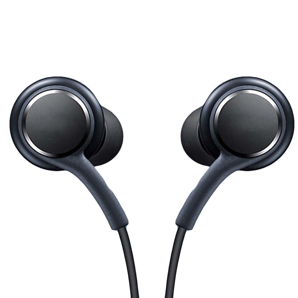 Behavetw Earphones Headphones, In-Ear Earbuds with Mic,Bass Driven Sound for Samsung S8+ s8plus, Metal Earphones