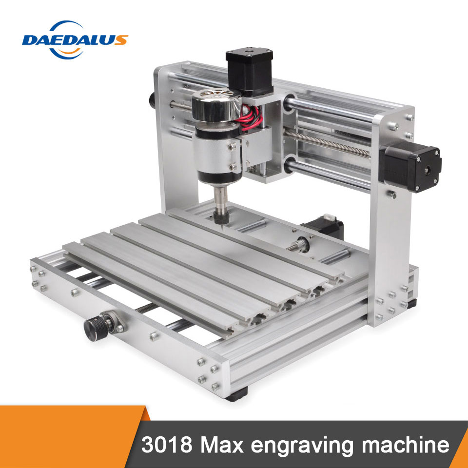 CNC 3018 MAX Engraving Machine, GRBL Controlled High Power Laser, DIY CNC Machine With 300W Spindle, 3-axis PCB Milling Machine
