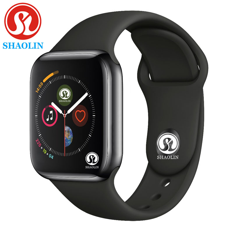 40%off 42mm Smart Watch Series 4 Clock Push Message Bluetooth Connectivity For Android Phone IOS Apple IPhone 5 7 8 X Smartwatch