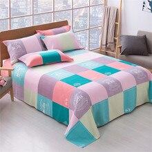 (Sheet + pillowcase) 3-piece set of bed linen, household sanding, household single-piece bed linen