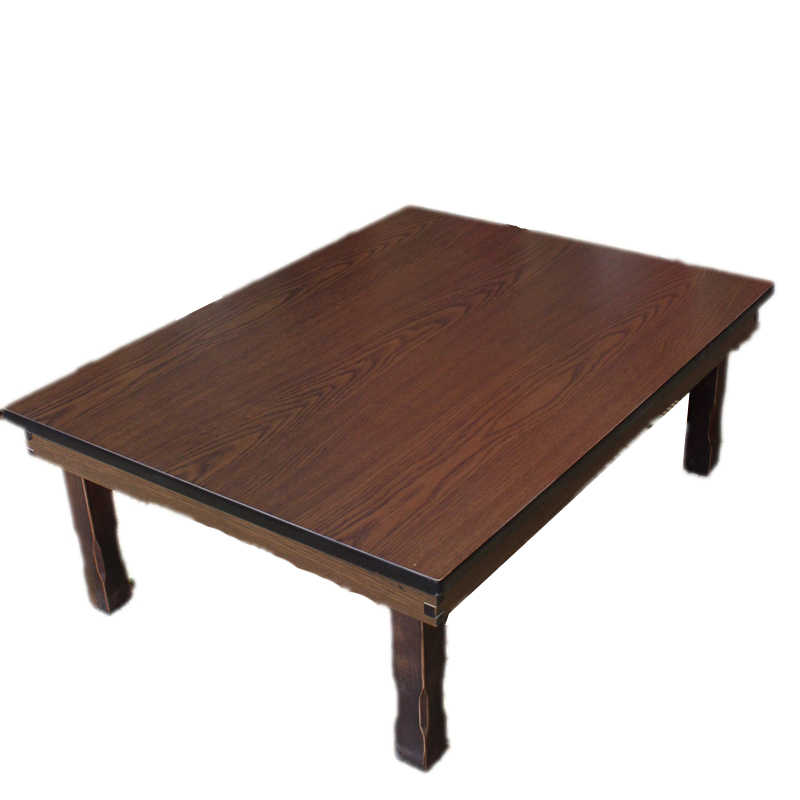 Rectangle 90x75cm Korean Coffee Table Folding Leg Asian