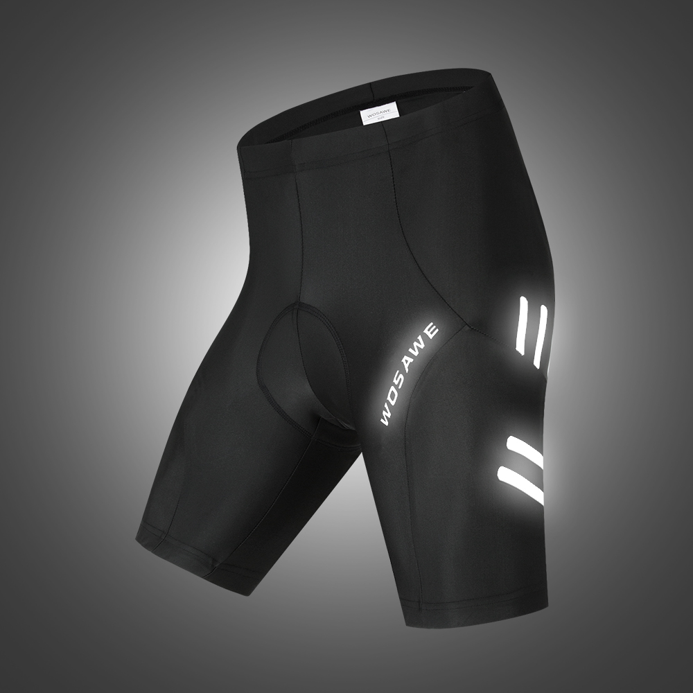 WOSAWE Men's MTB Cycling Shorts Gel Padded Shockproof Outdoor Sports Wear Downhill Bike Shorts Bicycle Underwear Bottom