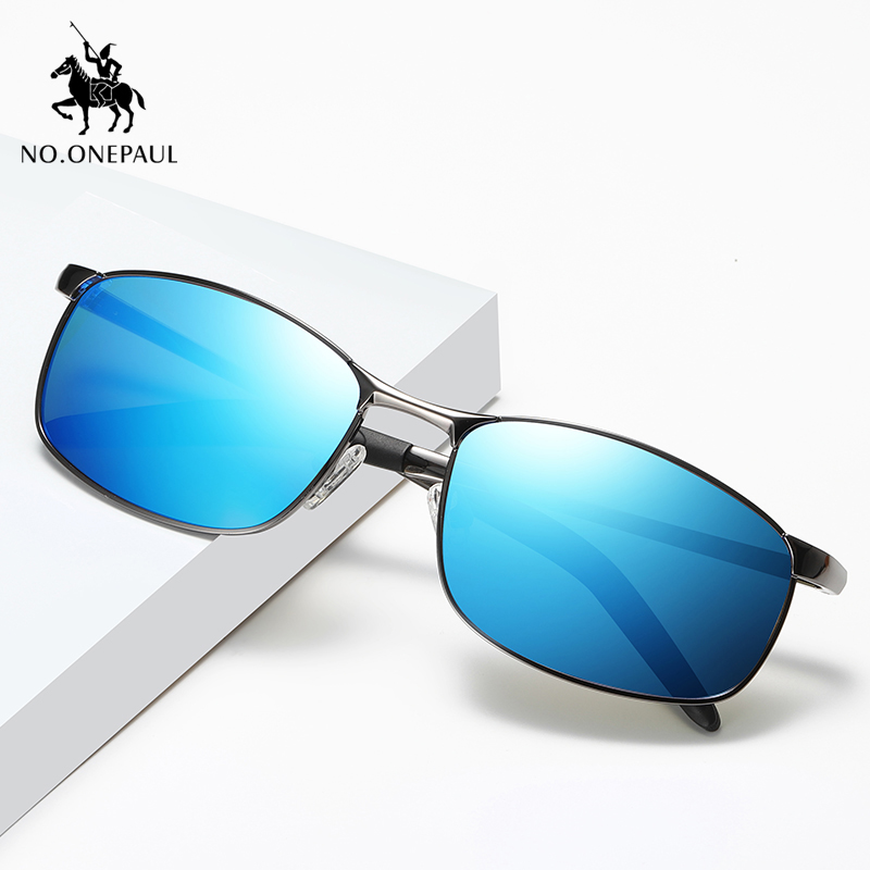 NO.ONEPAUL Sunglasses Fishing Driving Goggles Shades For Men/Women Oculos Brand Sunglasses Men Polarized Fashion Classic Pilot