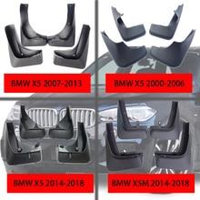 Car Mud flaps For BMW X5 Flaps Splash Guards Sport accessories Mudguards Flap Front Rear Fender 2000-2019
