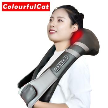 Masajeador de cuello eléctrico relajante, relajante, para la salud, bolas chinas, Envío Gratis