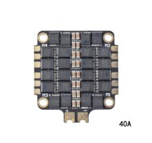 40A/55A 2-6S 4 In 1 ESC BLHeli_S ESC Speed Controller Papan Dukungan Dshot150 Dshot300 Dshot600 untuk FPV RC Racing Drone(China)