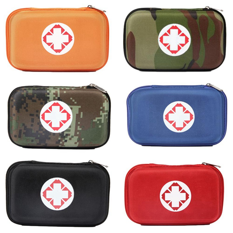 Camouflage Person Portable Outdoor EVA Small First Aid Kit Bag For Family Travel Security Emergency Kits Treatment