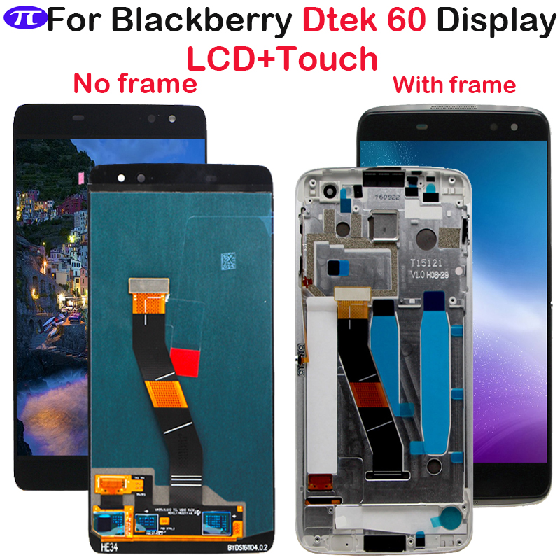 For Blackberry Dtek 60 LCD Display Touch Screen Digitizer Assembly Replacement Parts For 5 5 BlackBerry