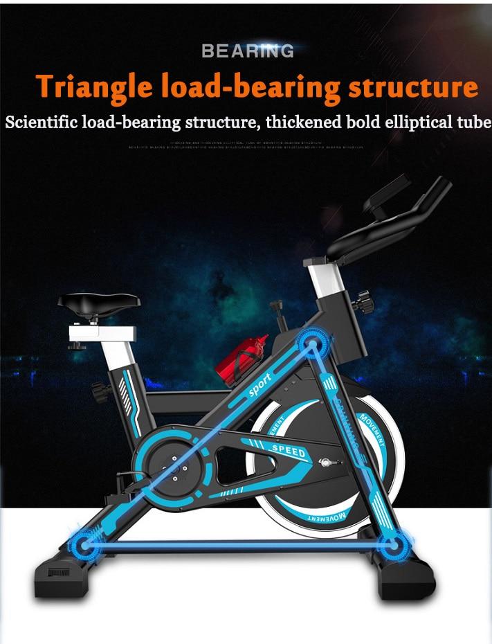Exercício de Bicicleta Pedal de Casa Perda de Peso Dinâmica Exercício Bicicleta Indoor Ginásio Equipamentos