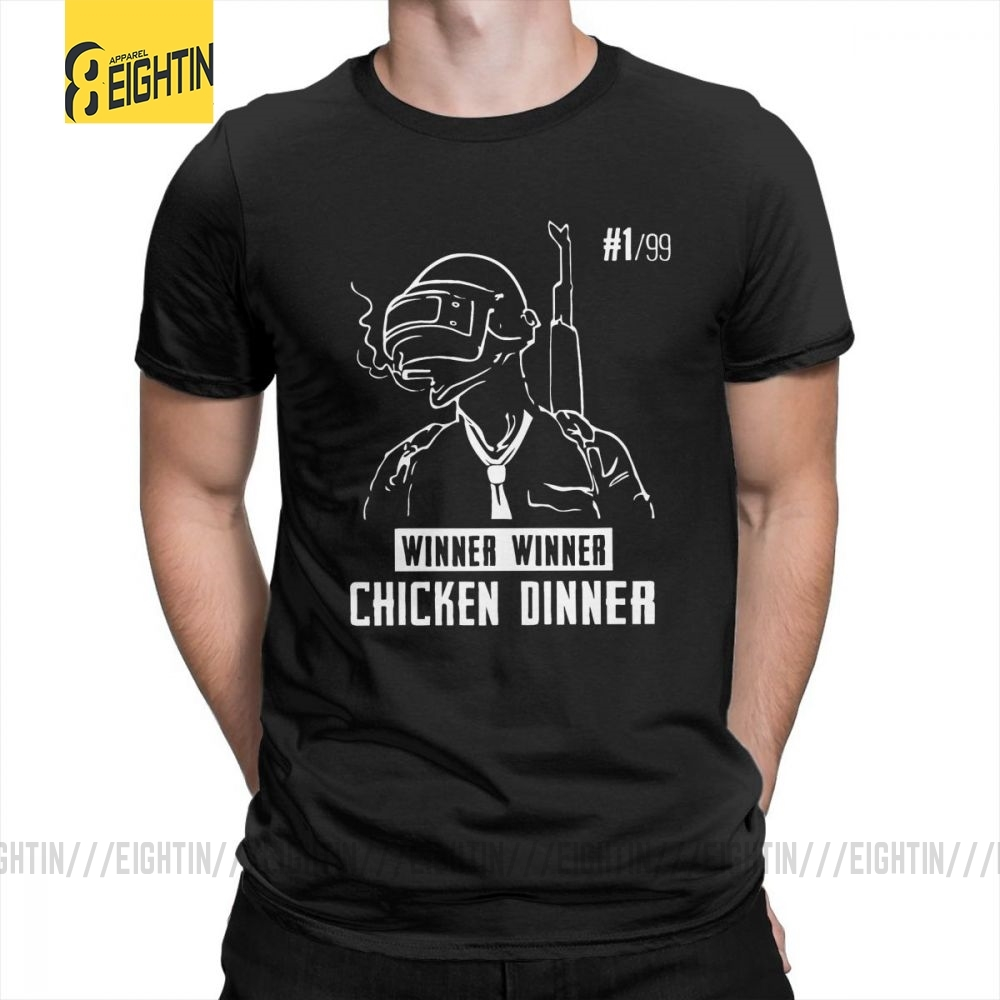 Pubg Playerunknown's Battlegrounds T-Shirt 100% Cotton Hipster High Quality Clothing Tees Teenage Short Sleeve Crew Neck T Shirt
