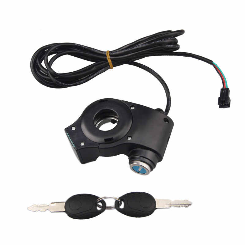 E-bike Thumb Throttle Electric Bicycle DC0.8V-4.2V Voltage Display with Key Lock