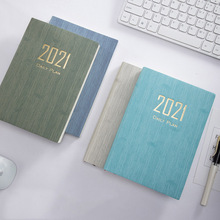 Planner Notebook Office-Stationery English-Lnner-Page Agenda School 365 Days for A5