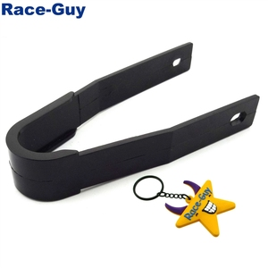 Black Rear Swingarm Guard Chain Slider For Chinese Pit Dirt Trail Bike Motorcycle 50cc 70cc 90cc 110cc 125cc 140cc 150cc 160cc 2(China)