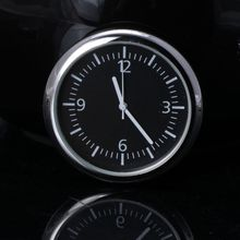 Universal Car Clock Stick-On Electronic Watch Dashboard Noctilucent Decoration For SUV Cars