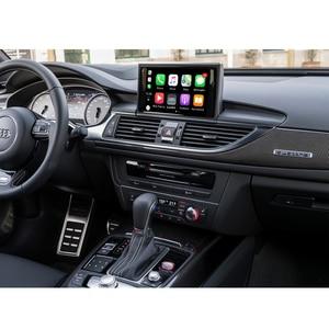 Image 2 - واجهة Apple CarPlay اللاسلكية لأودي A6 ، A7 ، 2012 2018 ، مع وظيفة HDMI ، رابط المرآة ، AirPlay ، Android ، للسيارة
