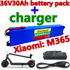 36v30ah scooter bateria para xiaomi mijia m365 36v30000mah bateria bloco elétrico scooter bms placa para xiaomi m365 + carregador