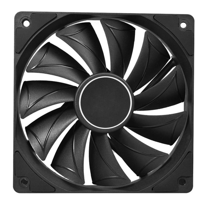 LX0B 4 Pin 120MM 1800RPM PWM PC Case Fan Speed Adjustable High Airflow CPU Radiator