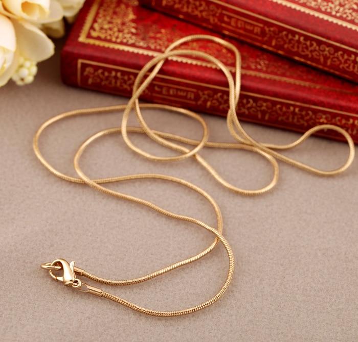 Классическая Минималистичная Золотая цветная змеиная цепь BALANBIU, длинное ожерелье для женщин, подарочные украшения, 2019