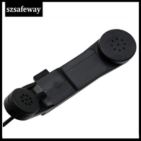 """5r uv גל""""צ מיקרופון הצבאי כף יד מיקרופון רמקול עבור Kenwood Baofeng UV-5R UV-6R DM-5R פלוס Wouxun Qansheng מכשיר הקשר (2)"""