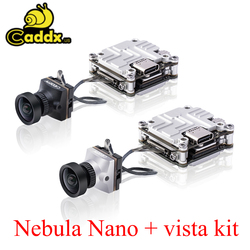 Caddx nébuleuse Nano caméra Vista Kit 2.1mm objectif 720P/60fps NTSC PAL commutable
