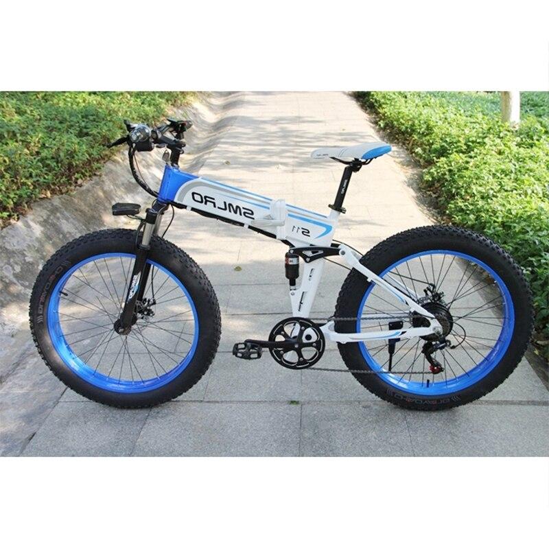S11F 26*4.0 1000W big power Fat tire electric 350W/500W/750W electric mountain bike Snow ebike fat bike electric 1
