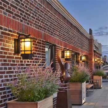 OUFULA Modern LED Wall Light Fixture Outdoor Sconce Waterproof Patio Lighting For Porch Balcony Courtyard Villa Aisle