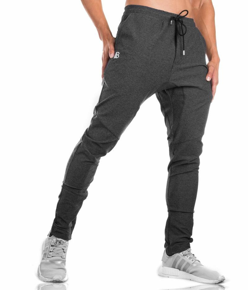 Athletic-Pants Running Muscle And Knitted Fitness Dr. America Men Casual Europe title=