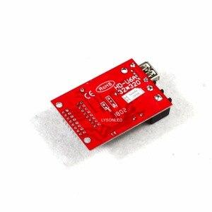 Image 2 - 10 sztuk/partia Hd U6A porty usb disk Huidu karta kontrolna wyświetlacza Led działa tylko z jednokolorowym modułem P10