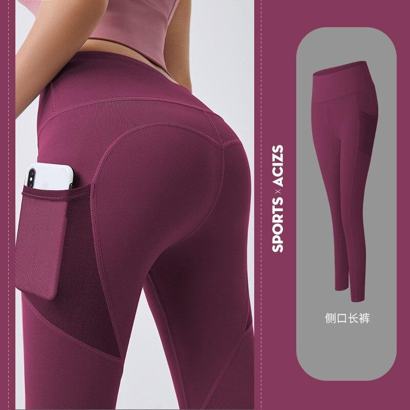 Women Sexy Leggings Fitness Yoga Pants Sports Tight Leggings Sportswear Gym Hip Lift Push Up Workout Running Pants Best Cheap