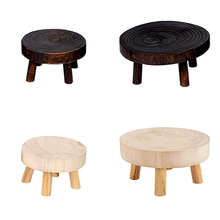 Multi-Function Solid Wood Bench Stool Flower Pot Stand Holder Children'S Adult Stool Living Room Home Small Bench High Quality